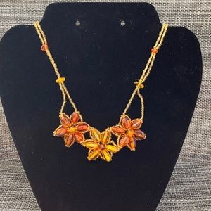 Jewelry - 🎊3/$10🎊 Artisan Amber Beeswax Necklace